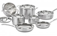 Cuisinart Multiclad Pro Stainless Steel 12pcs Cookware Set